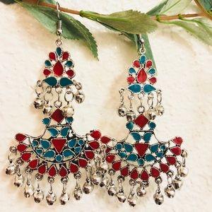 Jewelry - Multicolor Afghan Tribal Earring